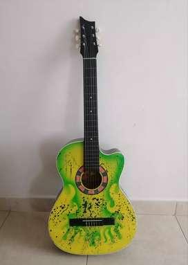 Guitarra acústica GRATIS Afinador y forro