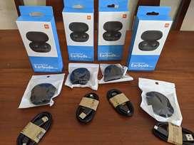 Audífonos inalámbricos Redmi Earbuds + protector + cable usb
