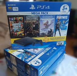 Playstation 4 hits bundle 4 juegos + PS plus
