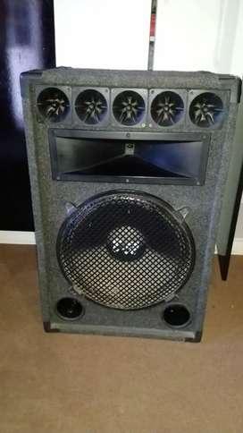 Vendo parlante y amplificador