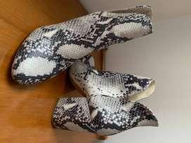 Botas y botines de segunda como nuevos