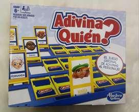 Juego Adivina Quien de Hasbro