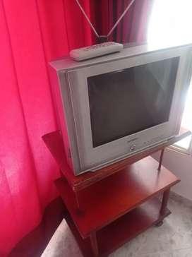 Vendo televisor con todo y mesa