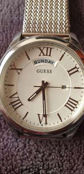 Reloj De Acero Inoxidable Guess