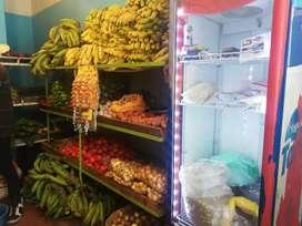 De oportunidad tienda frigorífico y fruteria