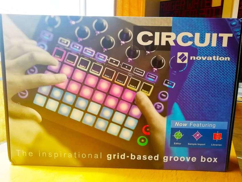 Novation Circuit. Groovebox y Sintetizador