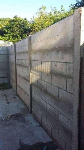 muros premoldeados de hormigon