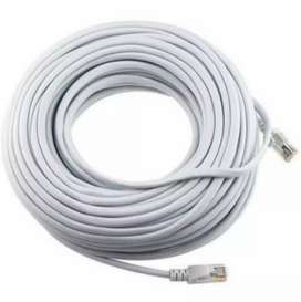 Cable para red 30 mts cat6 NUEVO