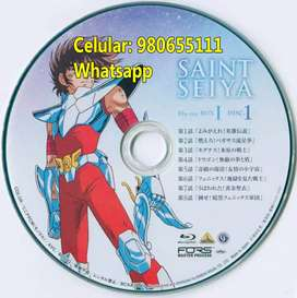 Saint Seiya Caballeros Zodiaco 15 Blurays Full Hd Dibujo Anime