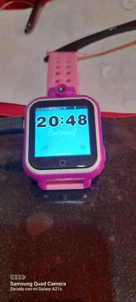Reloj para chicos juegos .llamada y msj