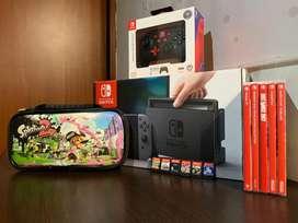 Nintendo Swich, control adicional,  juegos