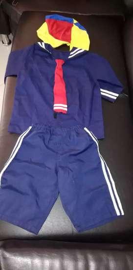 Vendo disfraz de kiko talla 4