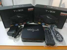 TV BOX (INCLUYE CANALES GRATIS) + MINI TECLADO