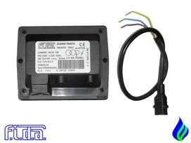 Transformador Ignicion Fida 230v Salida Doble Polo 2x5000 V para quemador, caldera, horno