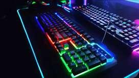 Teclado AOAS M-888 Iluminado
