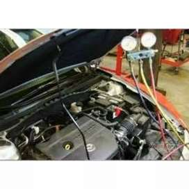 Carga de gas aire acondicionado auto camioneta