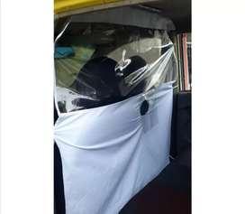 Película de aislamiento para cabina de taxi o carro