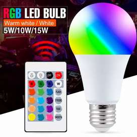Bombillo led de colores 15w