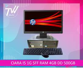 CPU CIARA I5 1GEN SFF RAM 4GB DISCO DURO 500 GB.