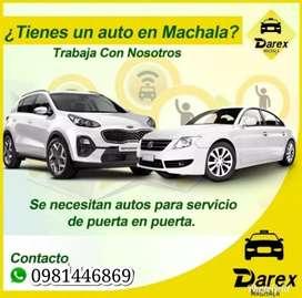Se Necesitan Autos Para Taxi Privado De Puerta a Puerta