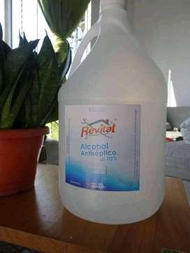 Litro de alcohol antiseptico