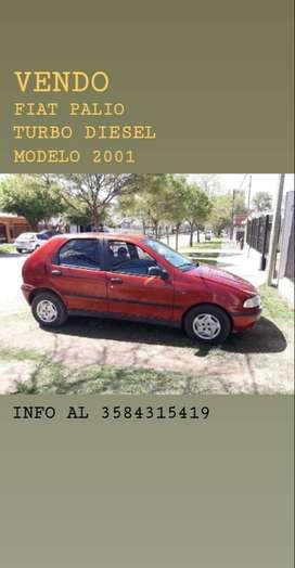 FIAT PALIO MODELO 2001 FULL TURBO DIESEL