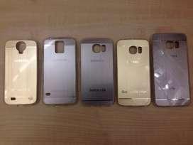 Funda Samsung Galaxy S4,5,6,6Edge Silicona Logo Grabado