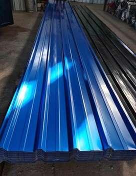 Chapas Trapezoidal de color Azul