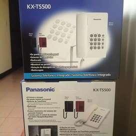 ANEXOS TELEFÓNICOS PANASONIC KXTS500 NUEVOS COLOR NEGRO A 62 SOLES