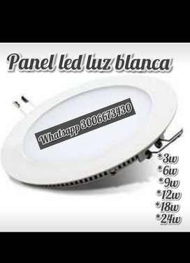 Panel led luz blanca