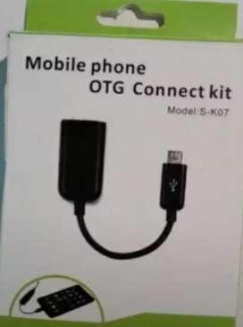 Cable OTG para conecta el celu con impresora