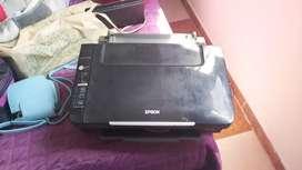 Impresora Epson en uso