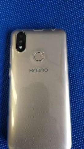 Se vende celular marca krono como nuevo con sus asesorio y caja