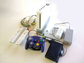 Wii Hdmi Retro 5 Mandos 200 Juegos Wii Gamecube Y Mas 1200 juegos de SNES MEgaDRive