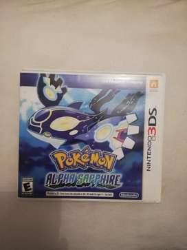 Juego Pokemon Alpha Sapphire 3ds