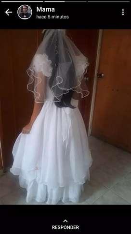 Vestido de comunion, usado segunda mano  El Cortijo