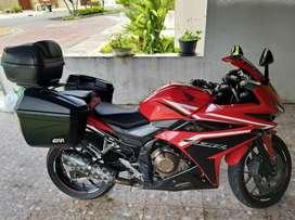 Moto honda cbr 500 año 2016