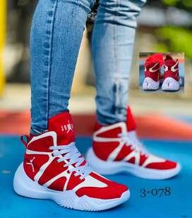 Zapato Bota Botin Deportivo Jordan Suela Eva