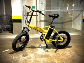 Bicicleta electrica marca Motorettas
