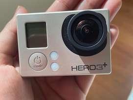 Camara GoPro Hero3+ silver edition