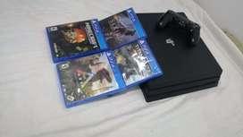 Vendo PS4 pro