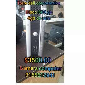 Gamers computer