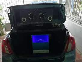 Sonido para Carro Bajo, Planta Medios y Brillos