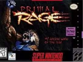 Juego Super Nintendo ( Primal RAGE ) Original excelente estado