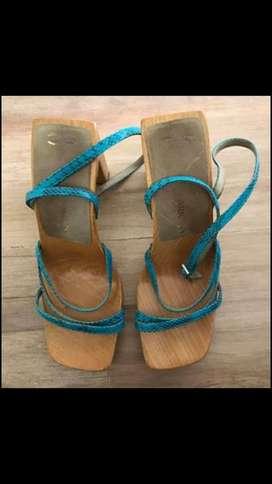 Sandalias de madera ricky sarkany n37