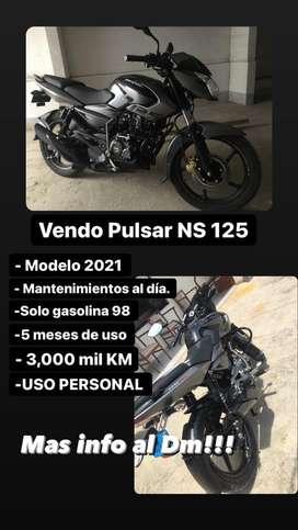 Pulsar 125 Ns