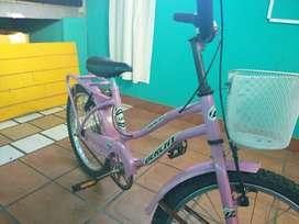 Bicicleta derchy rodado 20 nena