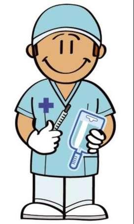 Enfermero o técnico varón para paciente postrado en SanMiguel