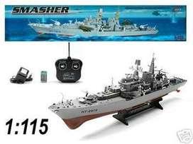 Buque de guerra destructor, barco RC, escala 1:115, listo para navegar