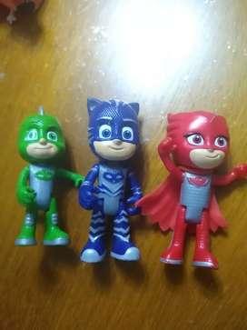 Pj Mask Súper héroes en pijama Gecko Catboy Ululet